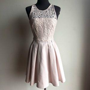 Karen Millen sz 2 lace fit & flare dress